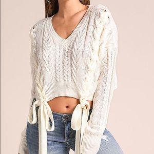 Sweaters - NWT - crop top sweater